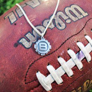 Riipus amerikkalaisen jalkapallon seura Butchersin logolla