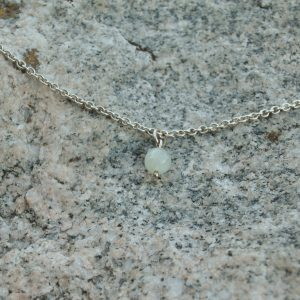 DRIP DROP PENDANT, moonstone