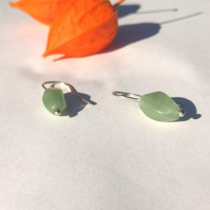GARDEN PARTY EARRINGS prehnite